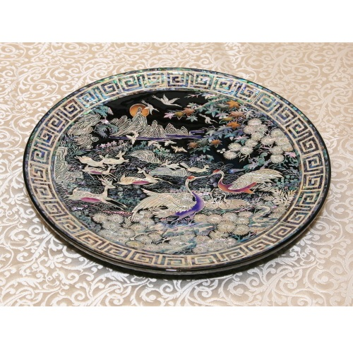 Round type plate  Made in Korea