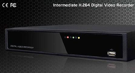 iNetDVR H.264 Real-time Stand Alone DVR (H-E Series)  Made in Korea