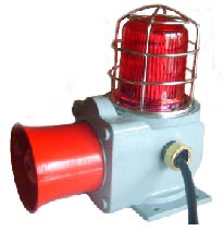 WARNING HORN WITH LIGHT  Made in Korea