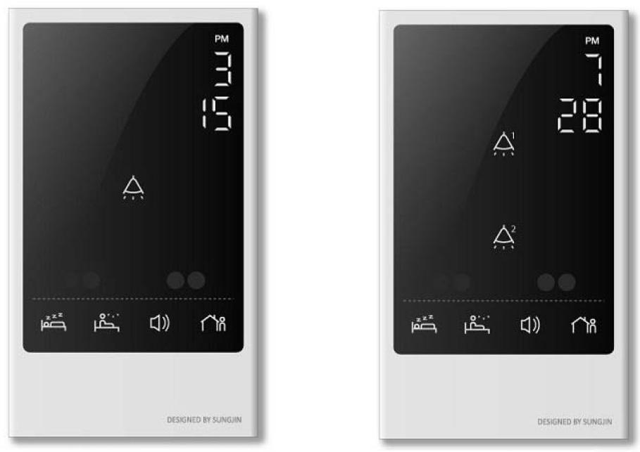 Touch Panel Network Switch