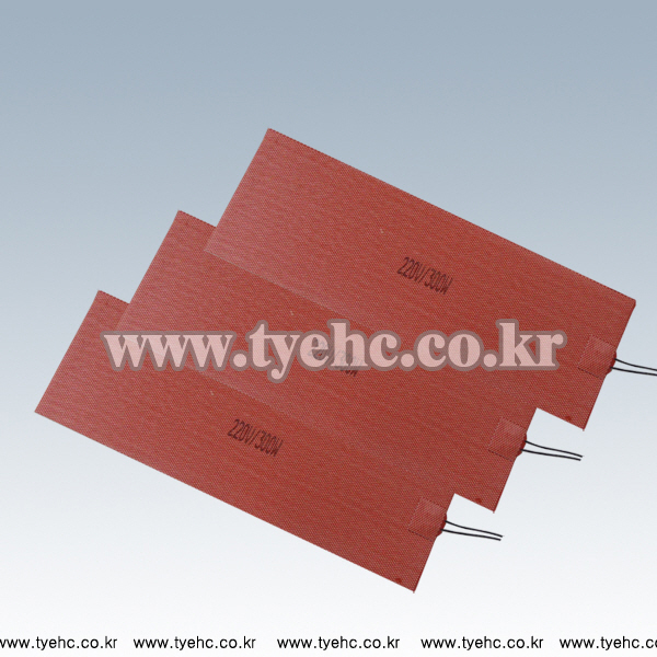 Silicone rubber heater