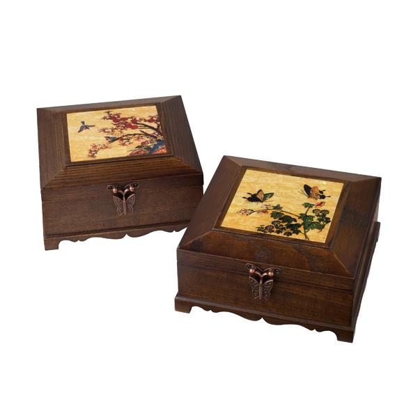 Ash wooden jewelry box (C33-1)