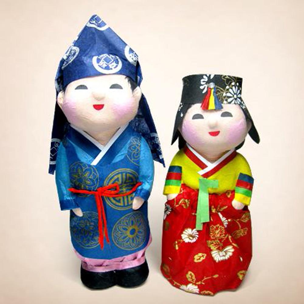 Hanji Doll  Made in Korea