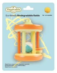 Vegetable Baby Cornstarch Rattles & Teethers Drum