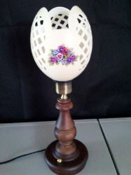 Ostrich Eggs LED Stand