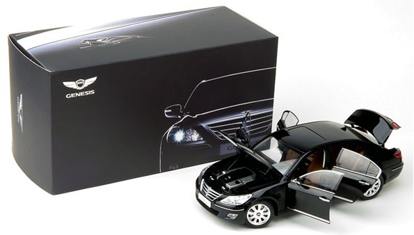 Diecast model car  Made in Korea