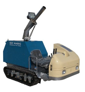 Ice snowmaking machine (snowmaker)