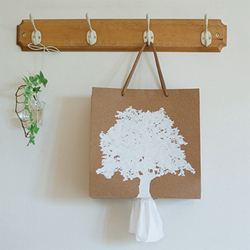 Bag + Tissue Case  Made in Korea