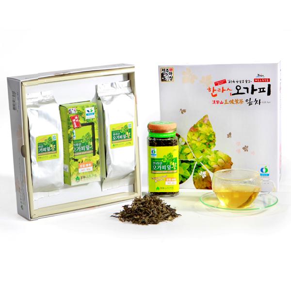 Acanthopanax Leaf Tea/Set for A Present(Leaf Tea, Tea)  Made in Korea