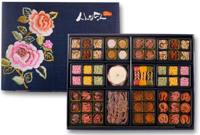 Wind scent traditional cookie set 700g  Made in Korea
