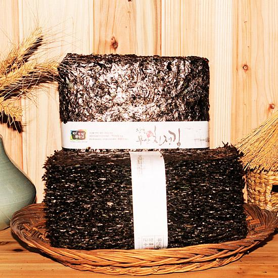 100 sheets of eco-friendly laver grown on rocks - 1 Soek  Made in Korea