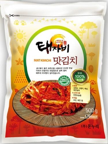 Taejabi Organic Tasty Kimchi  Made in Korea
