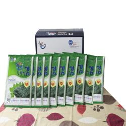 Haenuri Mulberry Leaf Laver 10packet  Made in Korea