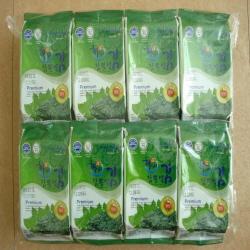 Haenuri Mulberry Leaf Laver 16packet  Made in Korea
