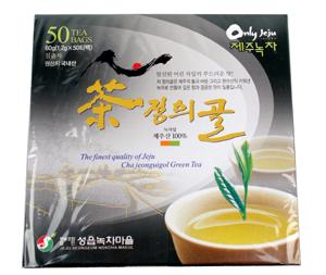 Jeju ChaJeongeuigol Green Tea - 50  Made in Korea