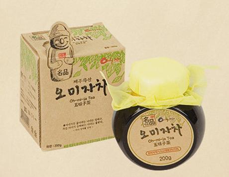 Fruit of Maximowiczia Typica Tea  Made in Korea