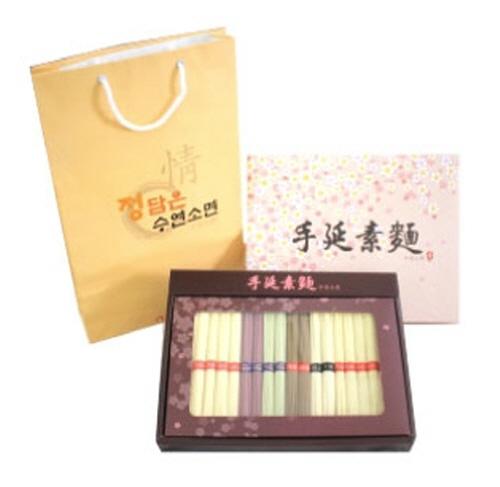 Jeongdameun Five-Color Dried Noodles Gift Set 1.2kg  Made in Korea