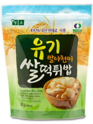 Organic Rice Snack 60g  Made in Korea