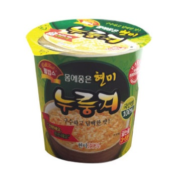 Instant Cup Brown-Rice Snack  Made in Korea
