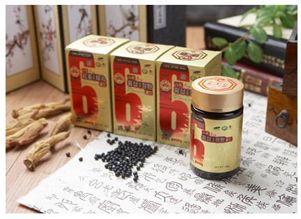 Red ginseng ingredients pill gold 120 g/bottle (health supplement food)  Made in Korea