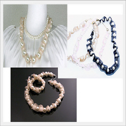 Pearl Necklace  Made in Korea