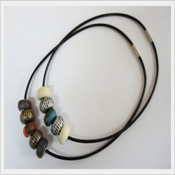 Polymer Necklace  Made in Korea
