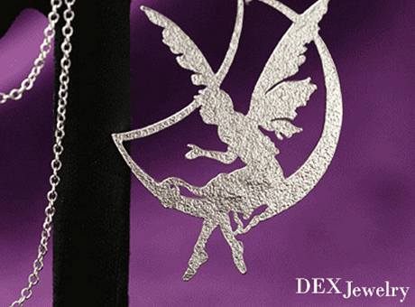 fairy necklace  Made in Korea
