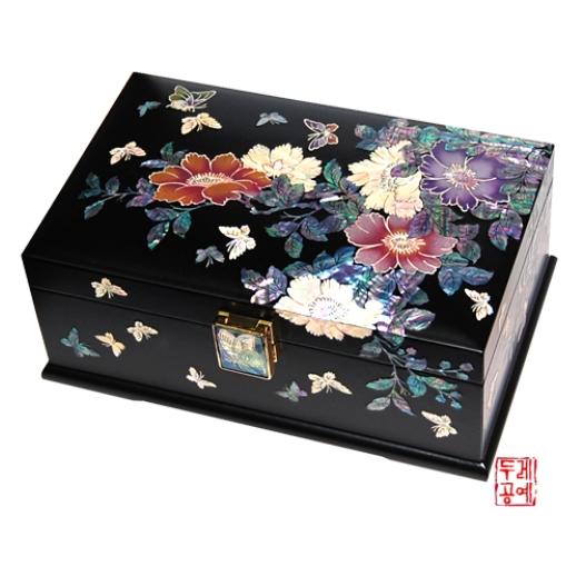 Lacquerware jewlery box  Made in Korea