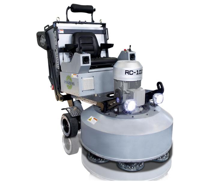 cement polishing machine