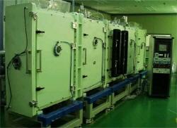 In-line Cathodic Vacuum Arc Deposition System