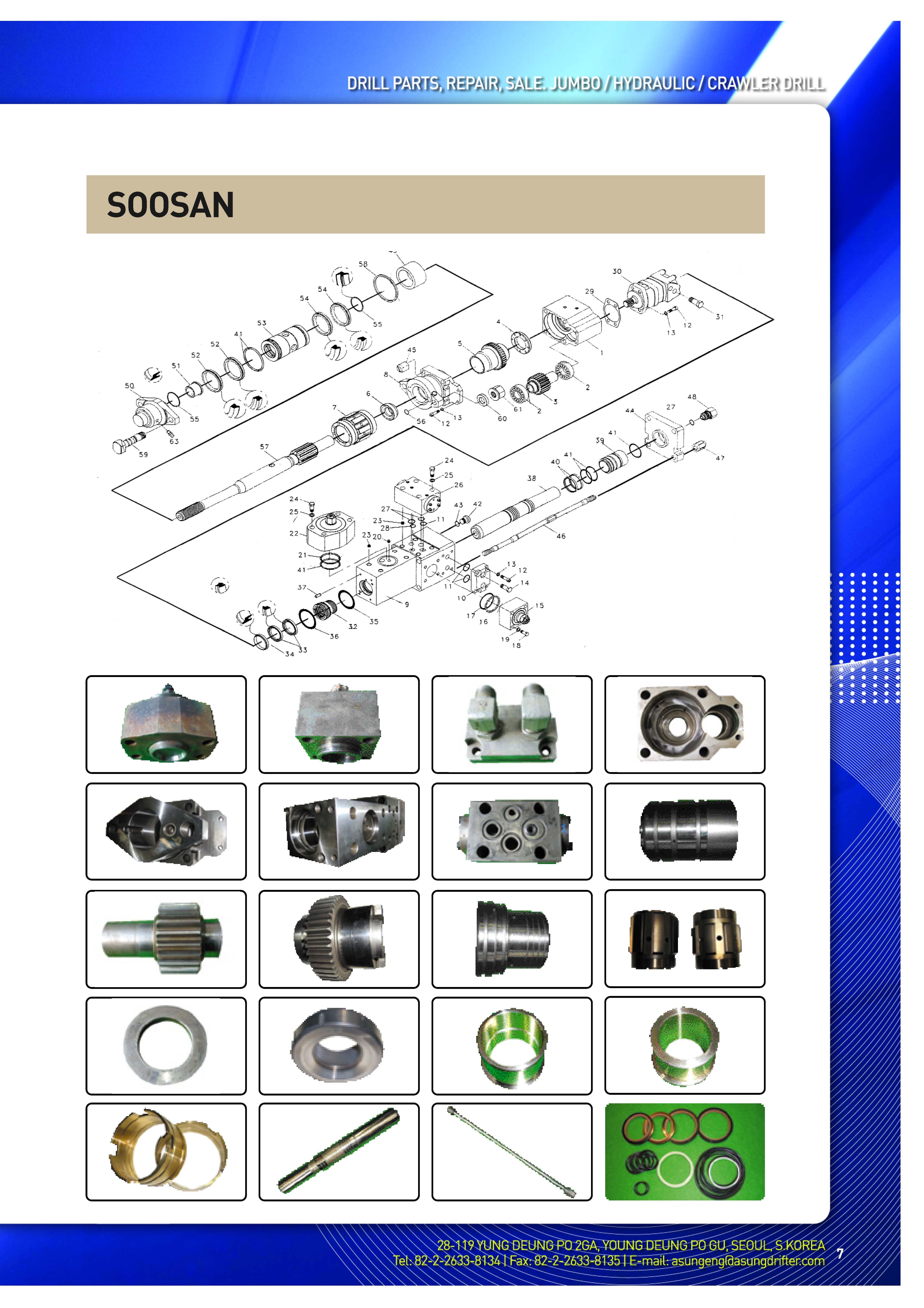 SOOSAN  Made in Korea