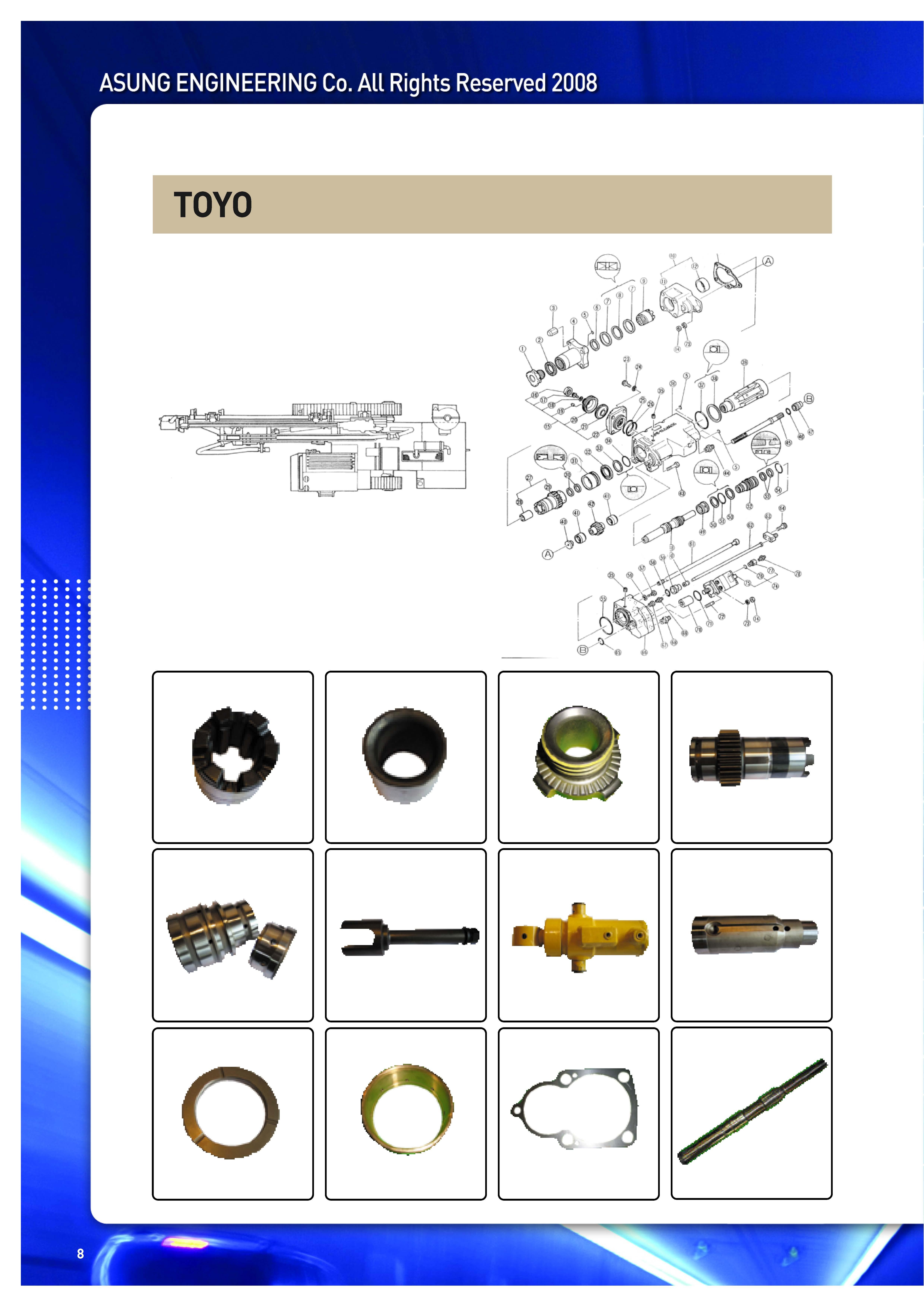 TOYO  Made in Korea