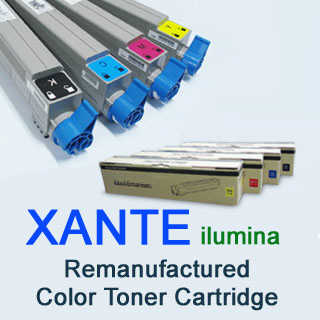 Xante Ilumina Compatible Color Toner Cartridge