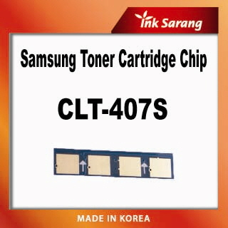 Replacement toner chip for samsung CLT-407S  Made in Korea