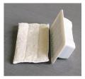 Eraser mold & pad