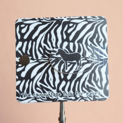 Autobookmark Suji-in : Camouflage look-Zebra
