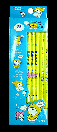 Poody pencil  Made in Korea