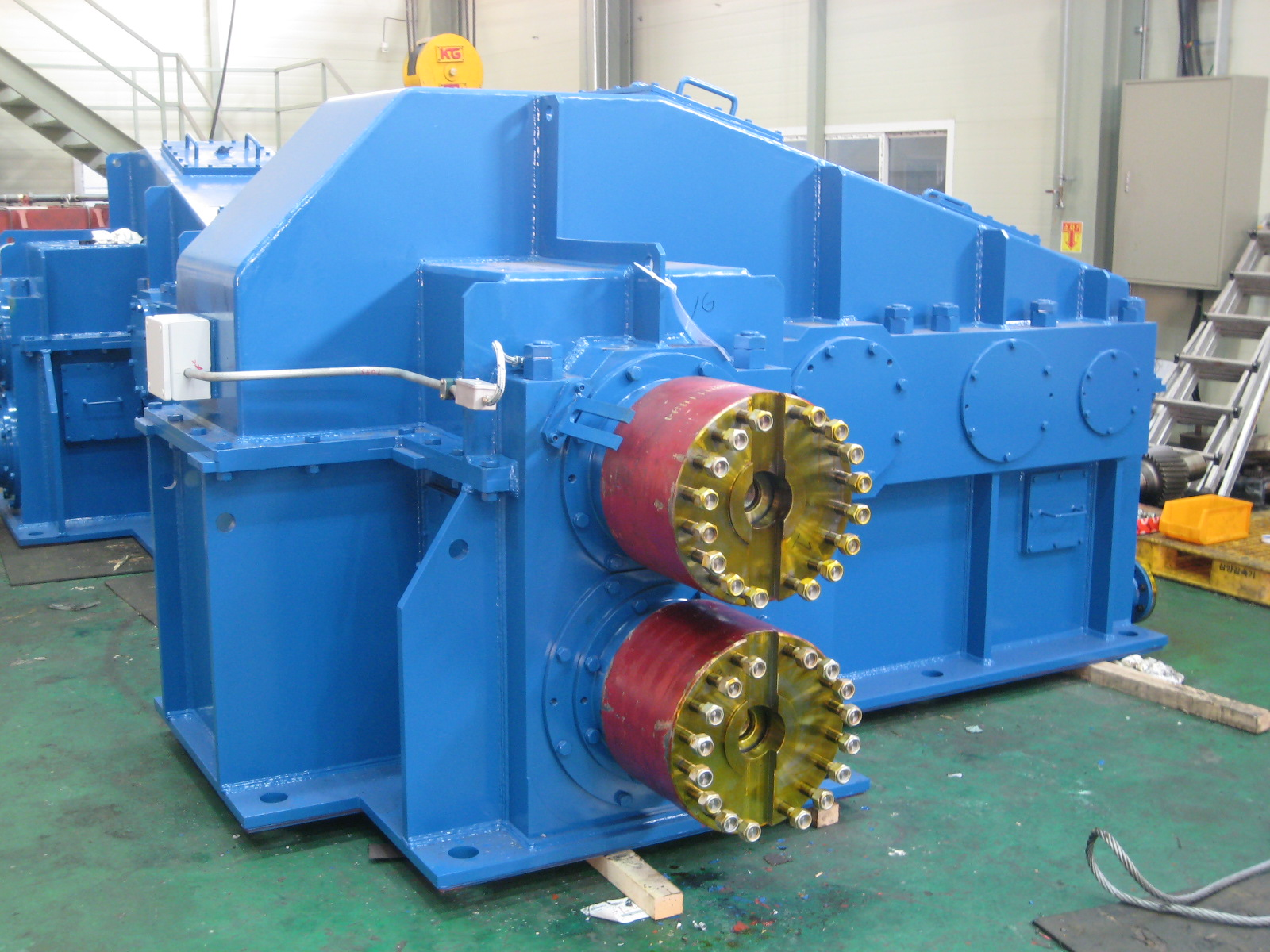 BAR MILL GEARBOX