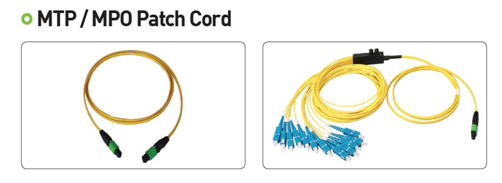 MTP/MPO patch cord  Made in Korea