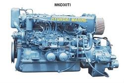 MARINE DIESEL ENGINE (M6D30)  Made in Korea