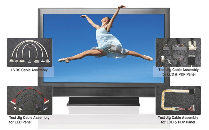 Cable Ass'y (LCD,PDP,LEDTV,NotePC, Monitor)  Made in Korea