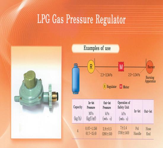 Pressure regulator for LPG gas (home) Manufacturers ...