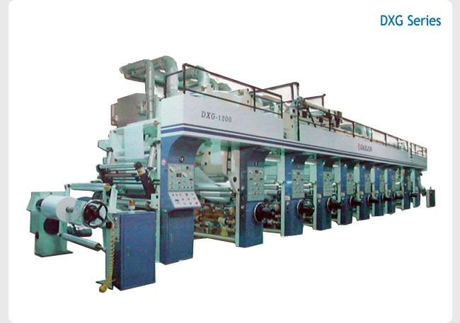 Roto Gravure Printing Machine(a popular version)  Made in Korea