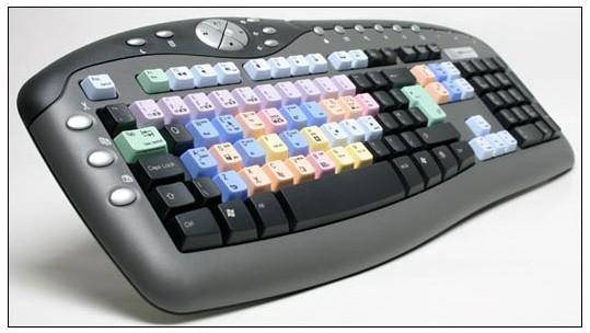 Premiere Pro Multimedia Keyboard