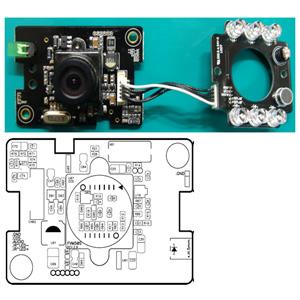 """FVM50S(Sony 1/3"""" 270/410K Pixel Module)"""