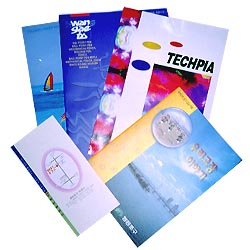 paper advertisement, industrial catalogs  Made in Korea