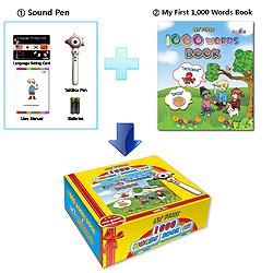 1,000 Word Book Set  Made in Korea