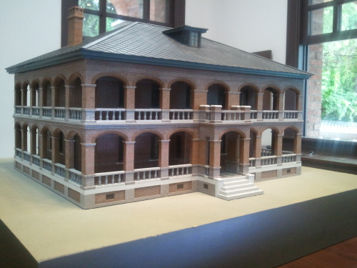 architectural model  Made in Korea