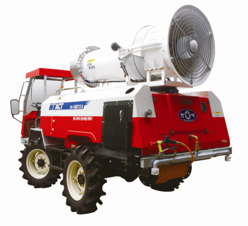 Self-Propelled Long Distance Sprayer  Made in Korea