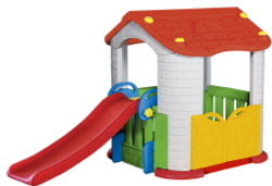 PLAYHOUSE WITH SLIDE  Made in Korea